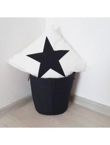 Тканевая корзина Black&White