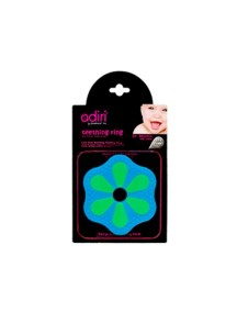 Прорезыватель для зубов Adiri Bottle Teething Ring, green-cyan (Адири)