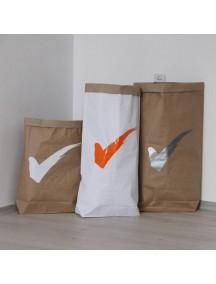 Эко-мешок для игрушек из крафт бумаги Done