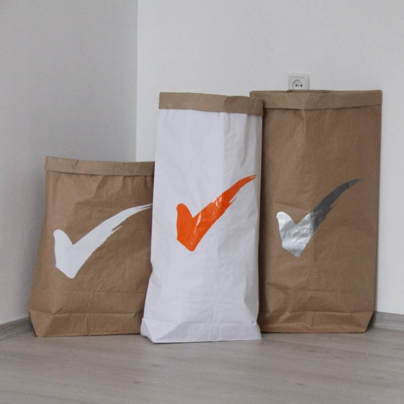 Эко мешок из крафт бумаги своими руками