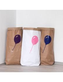 Эко-мешок для игрушек из крафт бумаги  Balloon
