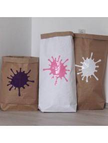 Эко-мешок для игрушек из крафт бумаги Blur