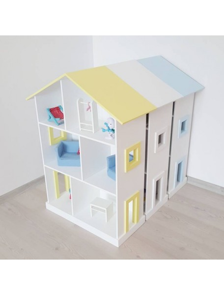 Огромный кукольный дом Manchester 93х72х30 см