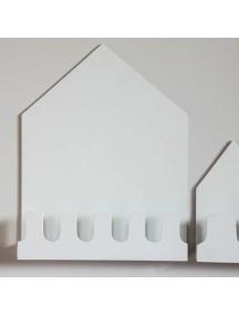 Полка-домик Munich белый