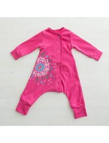 "Пижама на кнопках ""Альпийские Луга"" (Бамбинизон)"