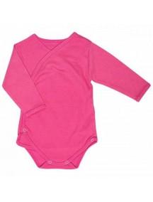 Распашонка детская Боди, Ярко-розовая (Бамбинизон)