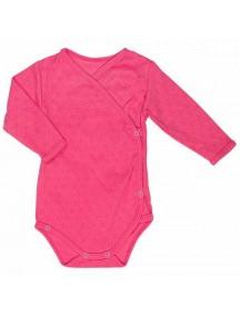 Распашонка детская Боди, Розовая (Бамбинизон)