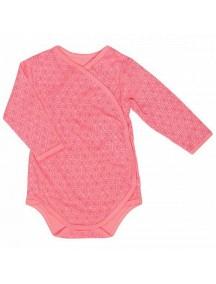 Распашонка детская Боди, Нежно-розовая (Бамбинизон)