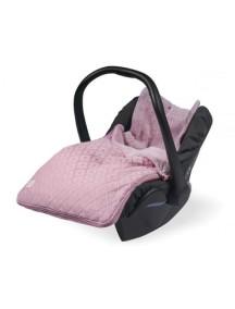 Демисезонный конверт Jollein, цвет винтажный розовый