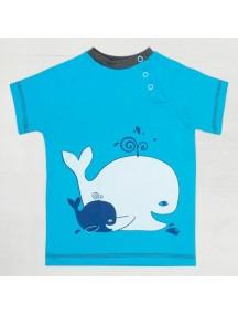 """Футболка """"Крошка кит"""" (Бамбинизон)"""