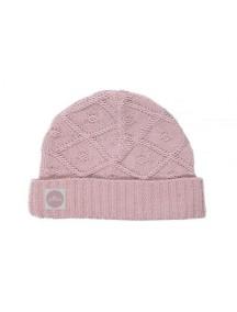 Вязаная шапочка Diamond knit от Jollein, цвет винтажный розовый