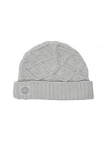 Вязаная шапочка Diamond knit от Jollein, цвет серый