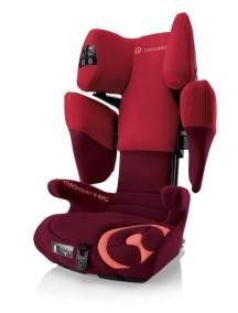 Автокресло детское Concord Transformer X-BAG  Lava Red 2014 (Конкорд Трансформер Икс-Бэг). Цвет Красный. От 3 до 12 лет.
