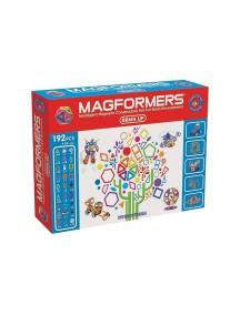 Магнитный конструктор MAGFORMERS 63083 Brain Up set (Зарядка для мозга)