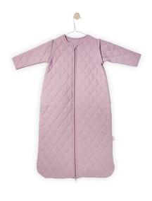 """Универсальный спальный мешок со съемными рукавами """"4-сезона"""", 110 см Jollein, цвет винтажный розовый"""