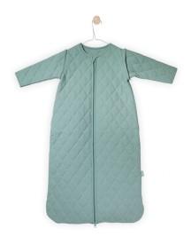 """Универсальный спальный мешок со съемными рукавами """"4-сезона"""", 110 см Jollein, цвет винтажный зеленый"""