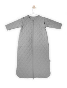 """Универсальный спальный мешок со съемными рукавами """"4-сезона"""", 110 см Jollein, цвет серый"""