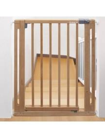 Safety 1st, Защитный барьер-калитка из дерева для дверного/лестничного проема (73-80.5 см) (сейфти фест)
