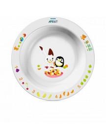 Philips AVENT Глубокая тарелка большая 12 м+ (Филипс Авент)