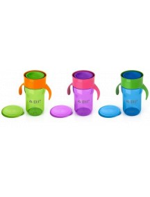 Philips AVENT Взрослая чашка, 340 мл, фиолетовая, зеленая, голубая (Филипс Авент)