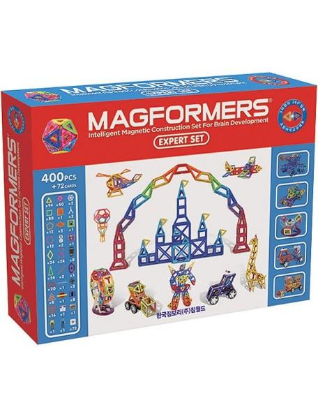 Магнитный конструктор MAGFORMERS 63084 EXPERT SET