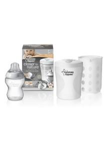 Tommee Tippee Стерилизатор для одной бутылочки (для холодной или паровой стерилизации) (Томми Типпи)