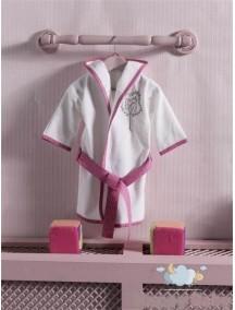 Kidboo Халат махровый Little Farmer Pink (Кидбоо)