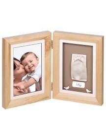 Рамочка двойная (деревянная) Baby Art