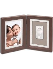 Рамочка двойная (шоколад) Baby Art