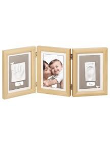 Рамочка тройная (деревянная) Baby Art