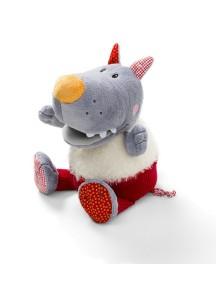Волк Николас: музыкальная мягкая игрушка-копилка Lilliputiens (Бельгия)