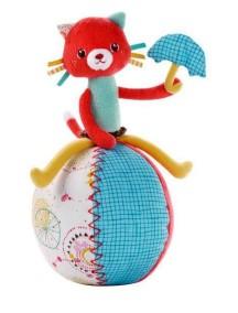 Кошечка Коллет: игрушка - неваляшка Lilliputiens (Бельгия)