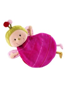 Божья коровка Лиза: игрушка-обнимашка в коробке Lilliputiens (Бельгия)