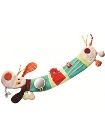 Собачка Джеф: развивающая игрушка на кроватку Lilliputiens (Бельгия)
