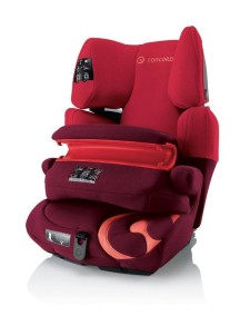 Автокресло детское Concord Transformer Pro Lava Red 2014 (Конкорд Трансформер Про). Цвет Красный. От 9 мес. до 12 лет.
