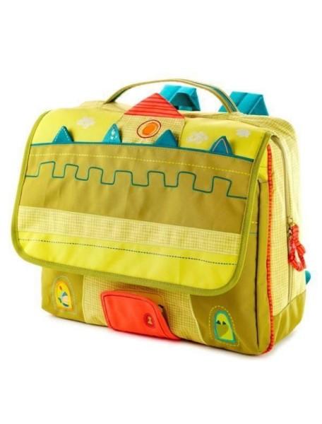 Дракон Уолтер: школьный рюкзак А4 Lilliputiens (Бельгия)