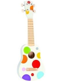 Гавайская гитара (дерево), белая Janod (Франция)