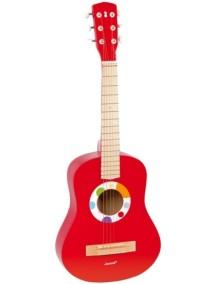 Гитара, красная Janod (Франция)