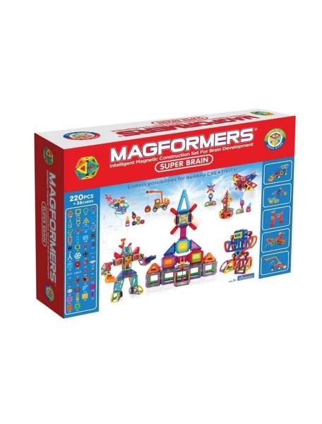Магнитный конструктор MAGFORMERS 63088 Super Brain Up set