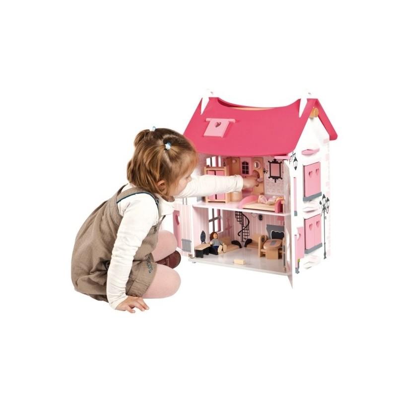 Как сделать домик для маленькой куколки 161