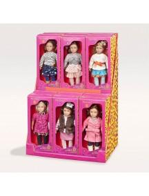 Мини-куколки 19,5 см. в ассортименте (6 куколок) Our Generation