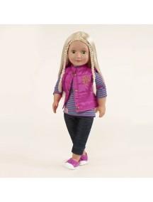 Одежда для куклы 46 см (Кофточка,куртка-жилет,штанишки,туфли) Our Generation
