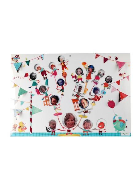 """Цирк Шапито: """"Семейное древо"""", мини фото- альбом Lilliputiens (Бельгия)"""