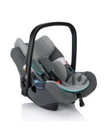 Автокресло детское Concord Air.Safe+Clip (Эир.Сейф+Клип). Цвет Серый. От 0 до 1,5 лет.