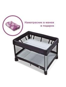 Манеж-кроватка 4moms Breeze (Фомамс Бриз) серый
