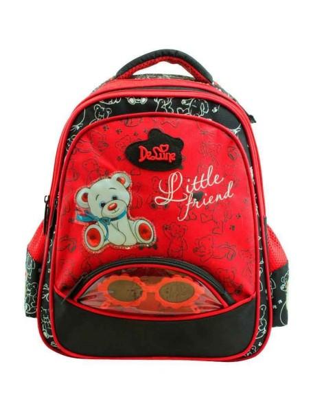 Детский школьный рюкзак De Lune 50-01 Красный