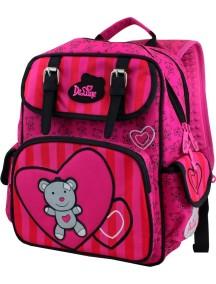 Детский школьный рюкзак De Lune 51-01 Розовый