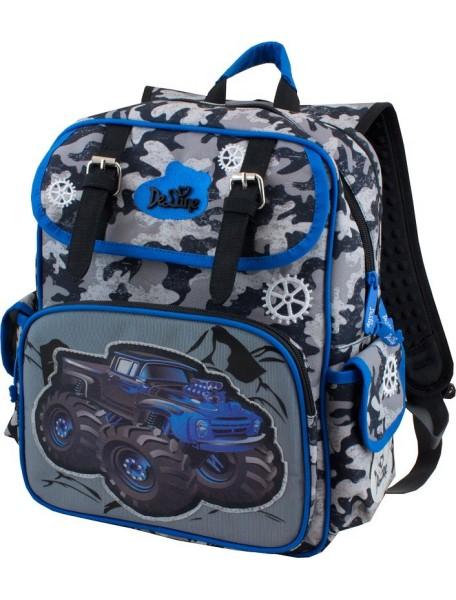 Детский школьный рюкзак De Lune 51-03 Синий