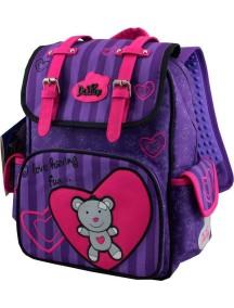 Детский школьный рюкзак De Lune 52-01 Фиолетовый