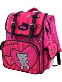 Детский школьный рюкзак De Lune 52-01 Розовый